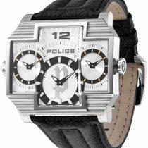 Police Steel 51mm Quartz PL-13088JS/04 new