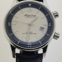 Alpina Seastrong Steel 42mm White Roman numerals