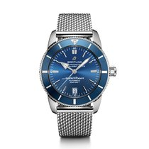 Breitling Superocean Héritage II 42 Steel 42mm Blue No numerals United States of America, New York, New York