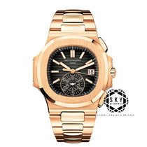 Patek Philippe Nautilus Rose gold 40.5mm Black No numerals United States of America, New York, NEW YORK