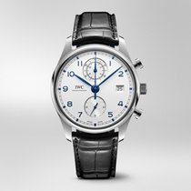 IWC Portuguese Chronograph new 2019 Automatic Chronograph Watch with original box and original papers IW390302