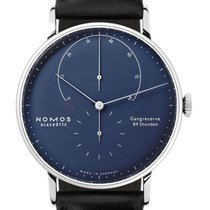 NOMOS White gold 42mm Manual winding 935 new