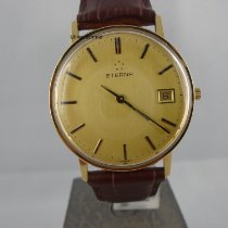 Eterna Yellow gold 33mm Quartz pre-owned