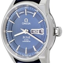 Omega De Ville Hour Vision Steel 41mm Blue No numerals United States of America, Texas, Dallas