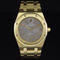 Audemars Piguet Royal Oak Jumbo Yellow gold 39mm Grey No numerals