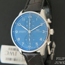 IWC Portuguese Chronograph Staal 41mm Blauw Nederland, Maastricht