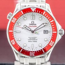 Omega Seamaster Diver 300 M Steel 41mm White Arabic numerals