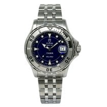 Tudor Tiger Prince Date Steel 42mm Blue No numerals United States of America, New York, New York