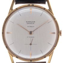 Sarcar Yellow gold 33mm 10-120-E new