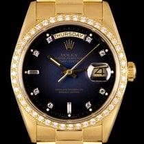 Rolex Day-Date Aur galben 36mm Albastru