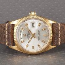 Rolex Day-Date 36 Geelgoud 36mm Goud Geen cijfers