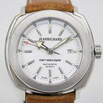 JeanRichard Acier 45mm Remontage automatique 31A0939 occasion