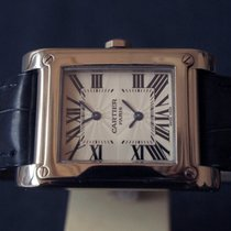 까르띠에 Cartier Paris Tank à vis DUAL TIME 2552