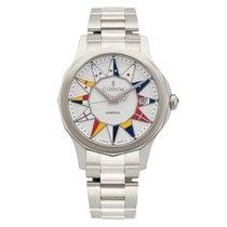 Corum Admiral's Cup Legend 38 nuevo Automático Reloj con estuche y documentos originales A082/03184 – 082.200.20/V200 BL12