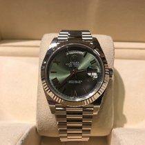 Rolex Day-Date 40 Green Dial B&P