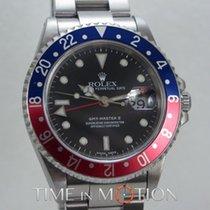 Rolex GMT MASTER II 16710 PEPSI  LUMINOVA + CERT ROLEX + BOX