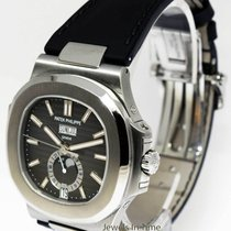 Patek Philippe 5726 Nautilus Steel Annual Calendar Watch...