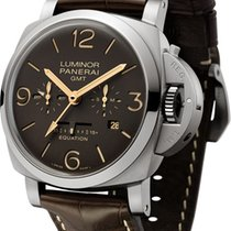 Panerai Luminor 1950 8 Days GMT Titanium 47mm Brown Arabic numerals United Kingdom, London