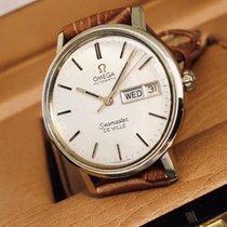 Omega Seamaster De Ville 14K Gold Filled Day Date mens watch