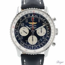 Breitling Chronograph 43mm Automatic 2015 pre-owned Navitimer 01 Black