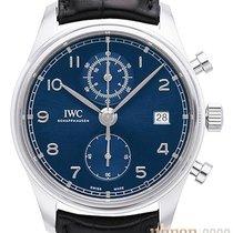 IWC Portugieser Chronograph neu 2020 Automatik Chronograph Uhr mit Original-Box und Original-Papieren IW390303