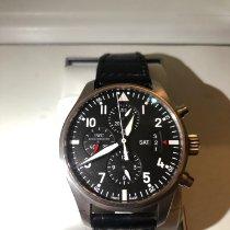 IWC Pilot Chronograph Steel 43mm Black Arabic numerals UAE, Dubai