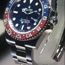 Rolex Witgoud Automatisch Blauw Geen cijfers 40mm tweedehands GMT-Master II