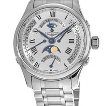 Longines Master Collection Steel 44mm White Roman numerals United States of America, New York, Brooklyn