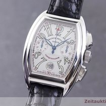 Franck Muller Steel 36mm Automatic Conquistador pre-owned