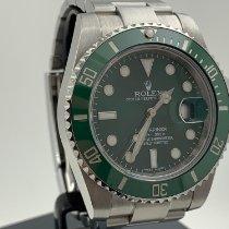 Rolex 116610LV Stahl 2011 Submariner Date 40mm gebraucht