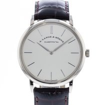 A. Lange & Söhne Saxonia White gold 37mm Silver United States of America, Georgia, Atlanta