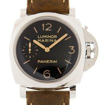 Panerai Luminor Marina 1950 3 Days Aço 47mm Preto