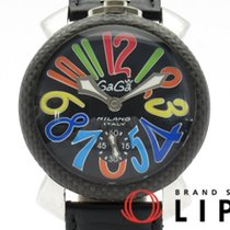 Gaga Milano 48mm Corda manual 5015.01S usado