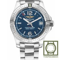 Breitling Colt Lady Staal 33mm Blauw Arabisch