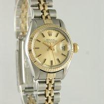 Rolex Lady-Datejust Acero y oro 26mm Champán
