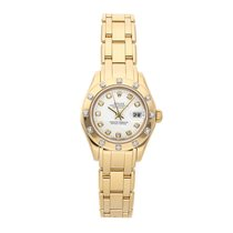 Rolex Lady-Datejust Pearlmaster Yellow gold 29mm White No numerals United States of America, Pennsylvania, Bala Cynwyd