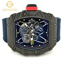 Richard Mille Carbon Manual winding Transparent No numerals 49.94mm pre-owned RM 035