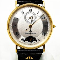 Maurice Lacroix Masterpiece Yellow gold 34mm White Roman numerals