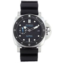 Panerai Luminor Submersible Acero 42mm Negro