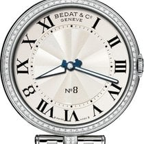 Bedat & Co Stål 36mm Kvarts 823.041.100 ny