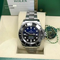 Rolex Sea-Dweller Deepsea Acero 44mm Negro