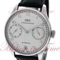 IWC Portuguese Automatic 7-Day Power Reserve, Silver Dial,...
