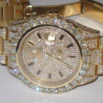 Rolex Day-Date II President 18K Solid Gold Diamnods