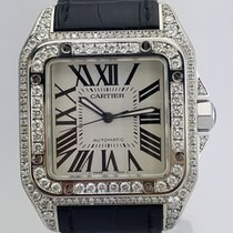 Cartier Santos 100 Steel 38mm White Roman numerals United States of America, New York, New York