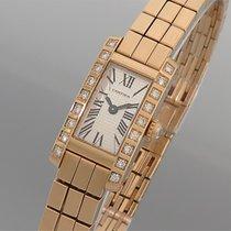 """Cartier """"LANIÈRES"""" 18K/750 Gelbgold mit Diamanten - Quarz -..."""