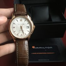 Hamilton Jazzmaster Viewmatic Rose Gold