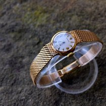 Rolex 1960's Vintage Ladies 9ct Gold Precision - Cocktail...