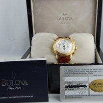 Bulova Chrono, Gold 18, Near Nos, Ref 60C00