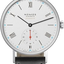 NOMOS Ludwig Neomatik Steel 36mm White United States of America, New York, Airmont