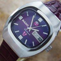 Rado Purple Horse 74 Vintage 1970s Swiss Made Mens Watch With...